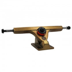 "Caliber 2 Forty Four 10"" Gangster Gold Longboard Truck(Single)"