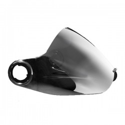 TSG Pass visor electric silver