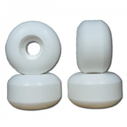 Nudes 56mm White Skateboard...