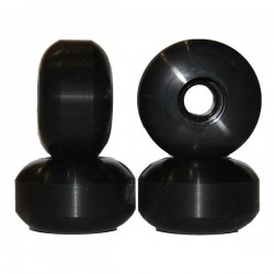 Nudes 58mm Black Skateboard...
