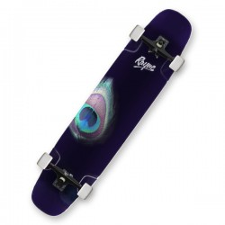 "Rayne Whip 41"" Peacock Complete Longboard"