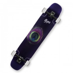 "Rayne Whip 44"" Peacock Complete Longboard"