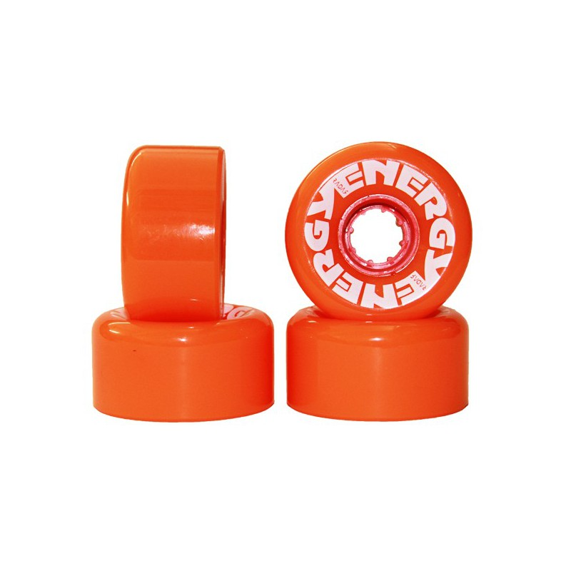 Radar Energy 62 Roller skate Wheels(Set of 4)