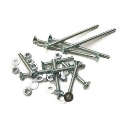 Roll Line Mounting Hardware for Roller Skates