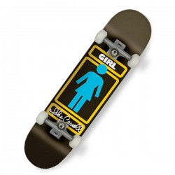 "Girl Sign Here Mike Carroll 8.125"" Skateboard"