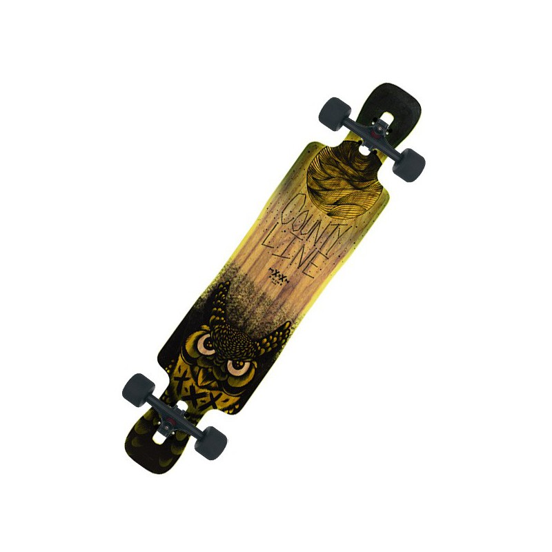 Moonshine Country Line Firm Complete Longboard