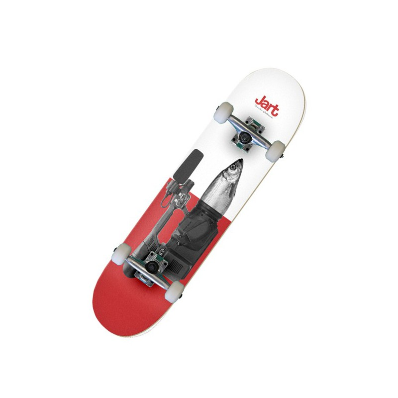 "Jart Mixed Fish Eye 7.87"" Complete Skateboard"