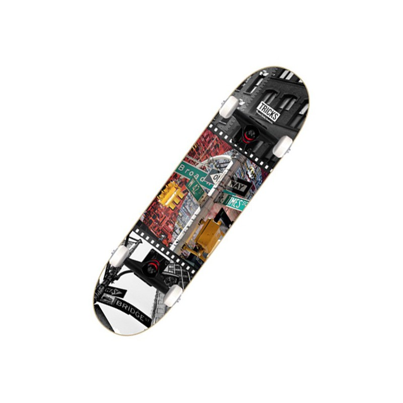 "Tricks One Way 7.75"" Complete Skateboard"