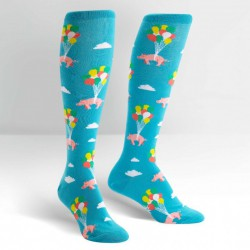 Sock It To Me When Pigs Fly Knee-High Socks