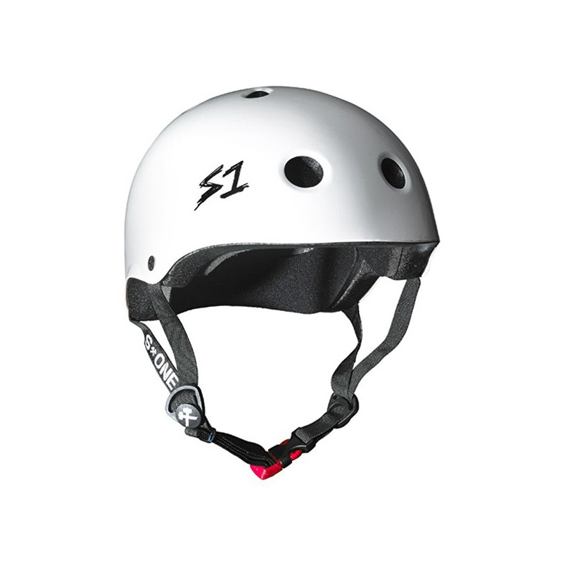 S-One V2 Lifer White Gloss Helmet(Shell)