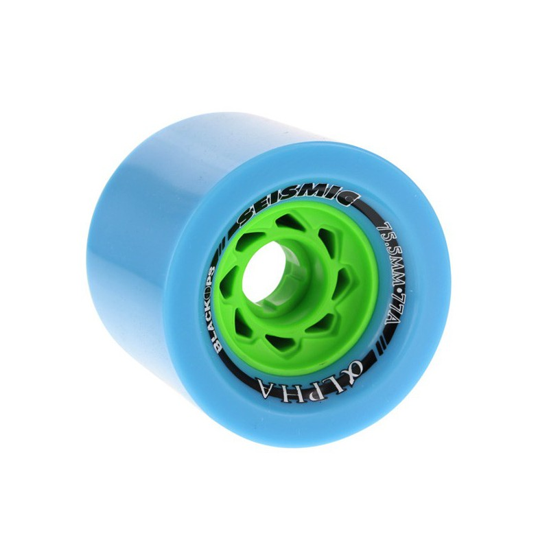Seismic Alpha BlackOps 75.5mm Longboard Wheels