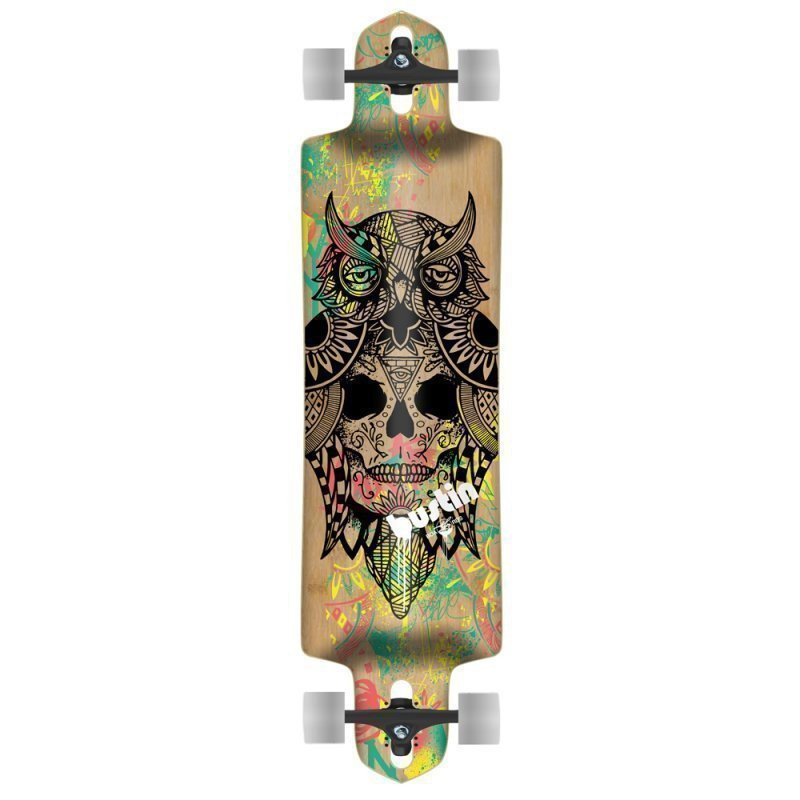 Bustin Ibach Bukhal Graphic Longboard Complet