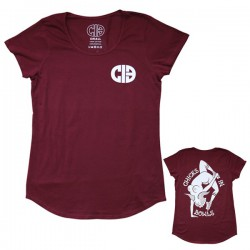 "CIB ""Invert Naked Lady"" Fitted Tee Shirt"