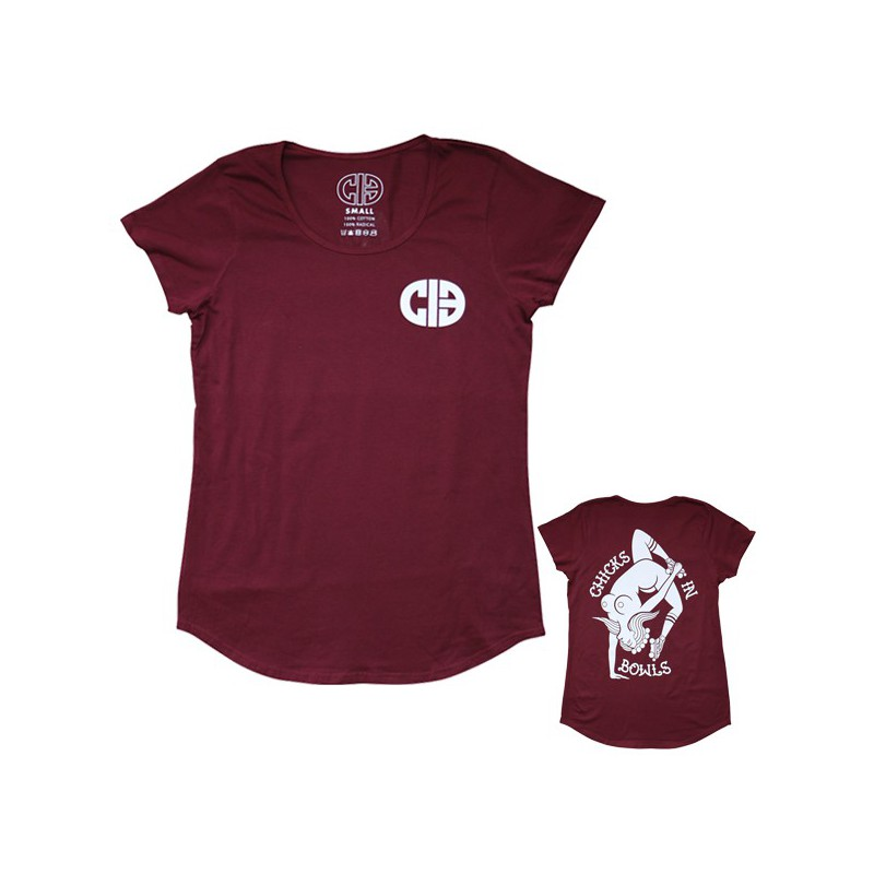 """CIB """"Invert Naked Lady"""" Fitted Tee Shirt"""
