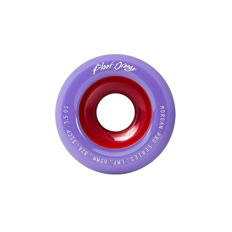 Blood Orange Liam Morgan Pastel 65mm Longboard Wheels