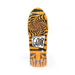"Vision Gator II 10.25"" Orange & Black Skateboard Deck"