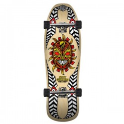 "Powell Peralta Guerrero Mask 10"" Natural Complete Skateboard"