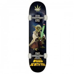 "Jart Weed Nation 8"" LC ""Yoda"" Complete Skateboard"