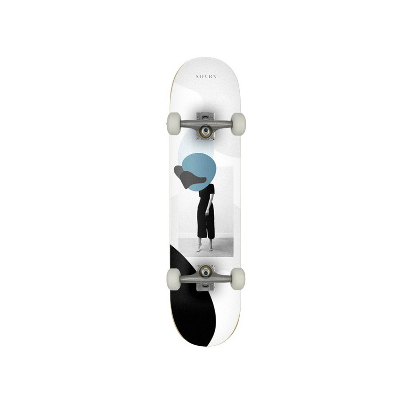 "SOVRN Act 8"" LC Complete Skateboard"