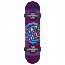 "Santa Cruz Illusion Dot 8.25"" Complete Skateboard"