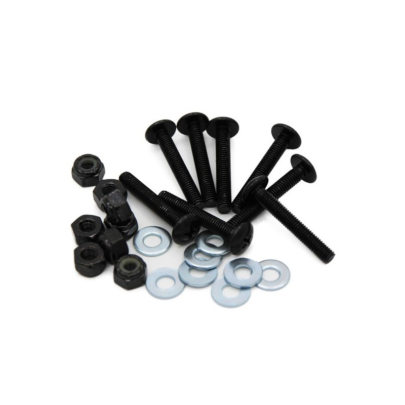 Phillips Button Socket Bolts & Nuts(8Pk)
