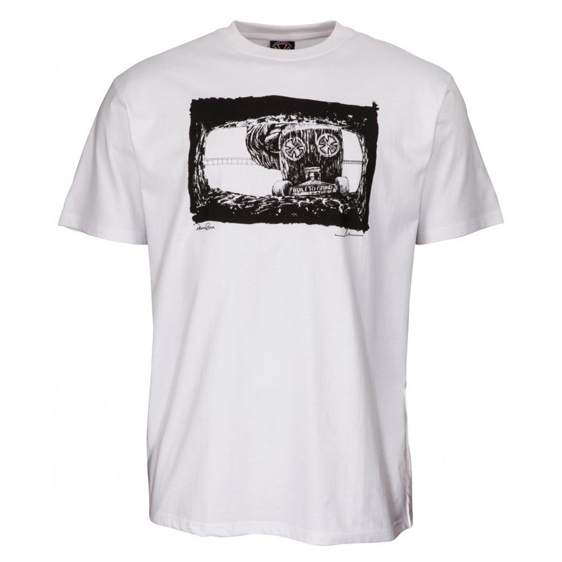"Independent ""Mofo Death Box"" White Tee Shirt"