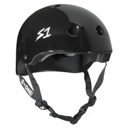 S-One Lifer Glossy Black Helmet(Shell)