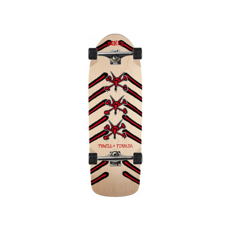 "Powell Peralta Rat Bones 10"" Natural Complete Skateboard"