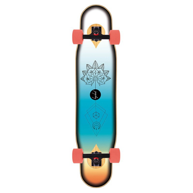 "Long Island Magic 46"" Flex1(Hard) Complete Longboard"